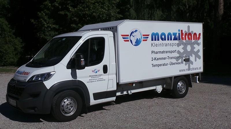 Kühltransporte von Manzitrans